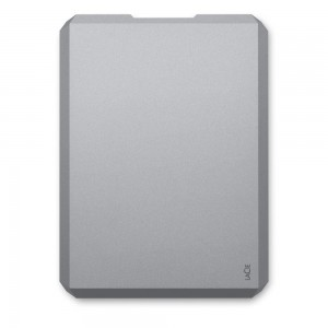 External HDD | LACIE | 2TB | USB-C | Colour Space Gray | STHG2000402