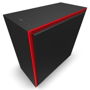 Case | NZXT | H710 | MidiTower | Not included | ATX | EATX | MicroATX | MiniITX | Colour Black / Red | CA-H710B-BR