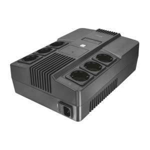 UPS | TRUST | 800 VA | Wave form type Simulated sinewave | Desktop/pedestal | 23326