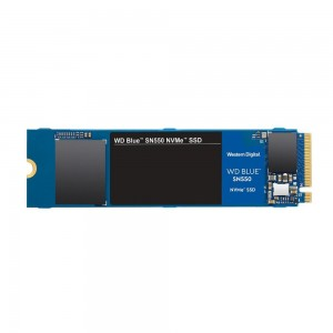 SSD | WESTERN DIGITAL | BLUE SN550 | 500GB | M.2 | PCIE | NVMe | TLC | Write speed 1750 MBytes/sec | Read speed 2400 MBytes/sec