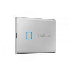 External SSD | SAMSUNG | T7 Touch | 2TB | USB 3.1 | Write speed 1000 MBytes/sec | Read speed 1050 MBytes/sec | MU-PC2T0S/WW