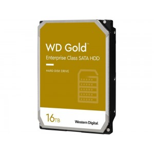 HDD | WESTERN DIGITAL | Gold | 16TB | SATA 3.0 | 512 MB | 7200 rpm | 3,5"