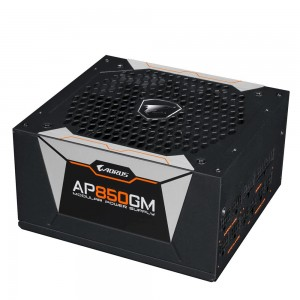 Power Supply | GIGABYTE | 850 Watts | Efficiency 80 PLUS GOLD | PFC Active | MTBF 100000 hours | GP-AP850GM