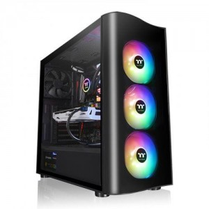 Case | THERMALTAKE | CA-1M8-00M1WN-00 | MidiTower | Colour Black | CA-1M8-00M1WN-00