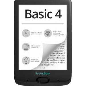 E-Reader | POCKETBOOK | PocketBook Basic 4 | 6"