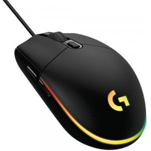 MOUSE USB OPTICAL G203/BLACK 910-005796 LOGITECH