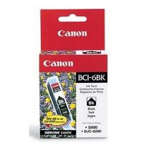 INK CARTRIDGE BLACK BCI-6BK/4705A002 CANON