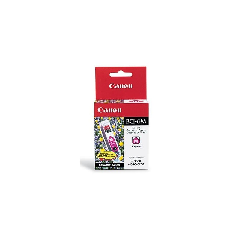 INK CARTRIDGE MAGENTA BCI-6M/4707A002 CANON