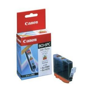 INK CARTRIDGE CYAN BCI-6PC/4709A002 CANON