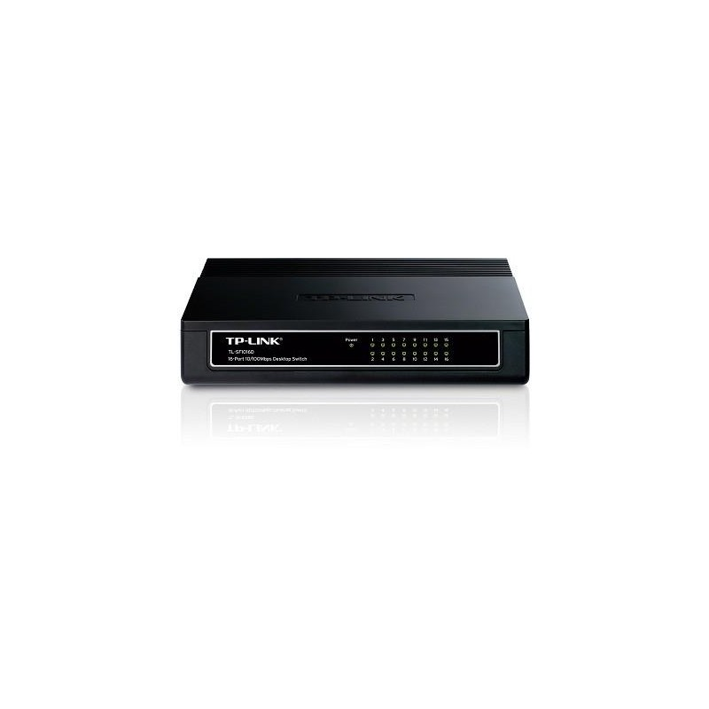 NET SWITCH 16PORT 10/100M/TL-SF1016D TP-LINK
