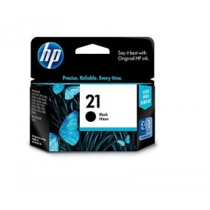 INK CARTRIDGE BLACK NO.21/5ML C9351AA HP