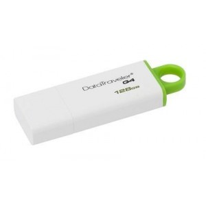 MEMORY DRIVE FLASH USB3 128GB/GREEN DTIG4/128GB KINGSTON
