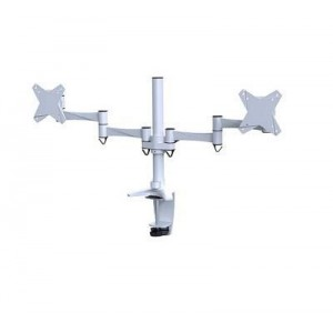 "TV SET ACC DESK MOUNT 10-24""/FPMA-D1330DWHITE NEWSTAR"