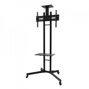 "TV SET ACC FLOOR STAND BLACK/32-55"" PLASMA-M1700E NEWSTAR"