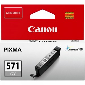 INK CARTRIDGE GREY CLI-571/0389C001 CANON