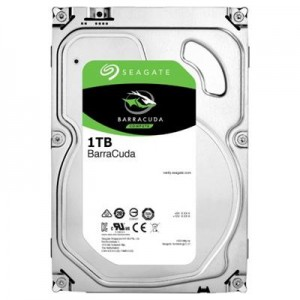 HDD | SEAGATE | Barracuda | 1TB | SATA 3.0 | 64 MB | 7200 rpm | Discs/Heads 1/2 | 3,5"