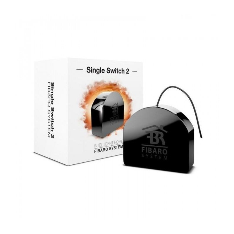 SMART HOME SINGLE SWITCH 2/FGS-213 ZW5 EU FIBARO