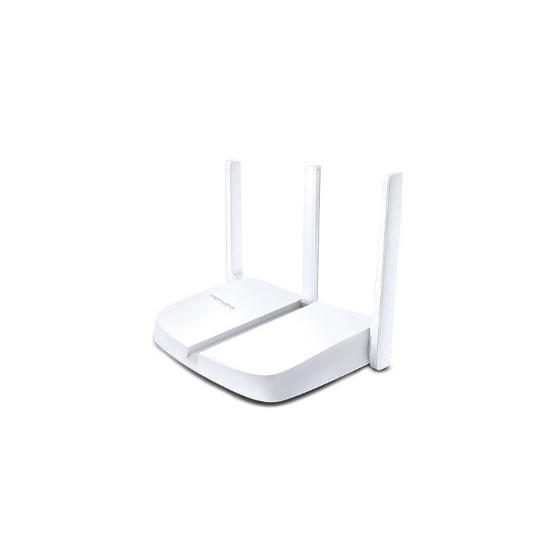 Wireless Router | MERCUSYS | Wireless Router | 300 Mbps | IEEE 802.11b | IEEE 802.11g | IEEE 802.11n | Number of antennas 2 | MW