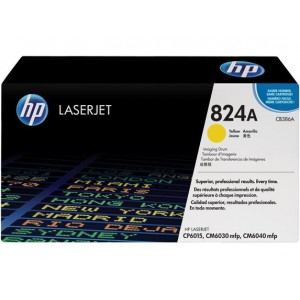TONER YELLOW 824A /CP6015/23K CB386A HP