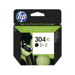 INK CARTRIDGE BLACK NO.304XL/5.5ML N9K08AE HP