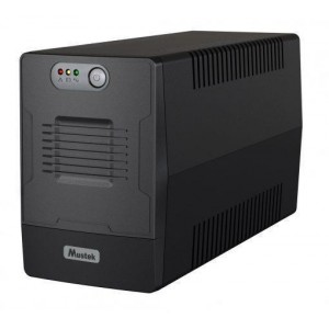 UPS | MUSTEK | 360 Watts | 650 VA | Wave form type Simulated sinewave | LineInteractive | Desktop/pedestal | 600-LED-LIG-T10