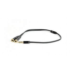 CABLE AUDIO SPLITTER 3.5MM/10CM CCA-415M-0.1M GEMBIRD