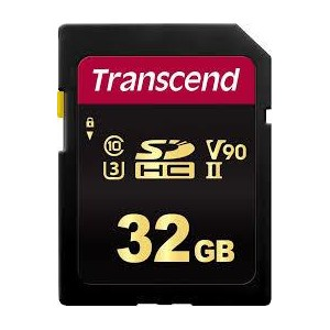 MEMORY SDHC 32GB UHS-II/C3 TS32GSDC700S TRANSCEND