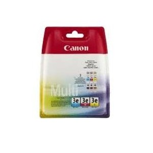INK CARTRIDGE COLOR BCI-3E/MULTIPACK 4480A265 CANON