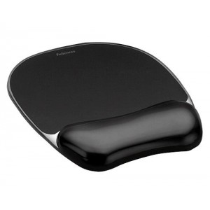 MOUSE PAD CRYSTAL GEL/BLACK 9112101 FELLOWES