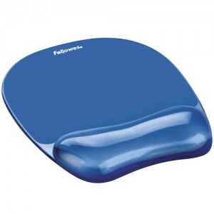 MOUSE PAD CRYSTAL GEL/BLUE 9114120 FELLOWES