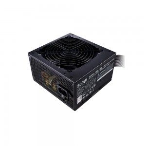 Power Supply   COOLER MASTER   500 Watts   Efficiency 80 PLUS   PFC Active   MTBF 100000 hours   MPE-5001-ACABW-EU