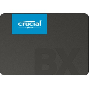 SSD | CRUCIAL | BX500 | 1TB | SATA 3.0 | Write speed 500 MBytes/sec | Read speed 540 MBytes/sec | 2,5"
