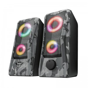 Speaker | TRUST | GXT 606 Javv RGB-Illuminated | P.M.P.O. 12 Watts | 1xAudio-In | 23379