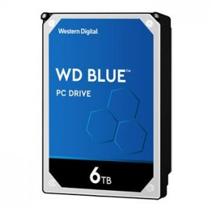 HDD | WESTERN DIGITAL | Blue | 6TB | SATA 3.0 | 256 MB | 5400 rpm | 3,5"