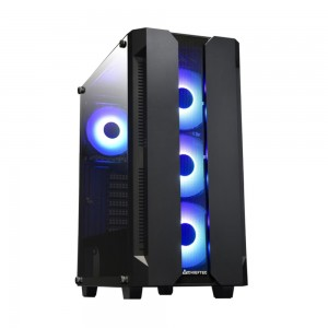 CASE MIDITOWER ATX W/O PSU/HUNTER TG GS-01B-OP CHIEFTEC