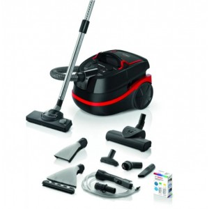 Vacuum Cleaner   BOSCH   Canister/Wet/dry/Bagged   2100 Watts   Weight 10.4 kg   BWD421POW