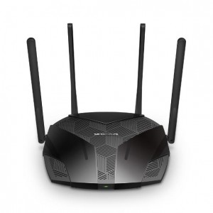 Wireless Router   MERCUSYS   1800 Mbps   Wi-Fi 6   1 WAN   3x10/100/1000M   Number of antennas 4   MR70X