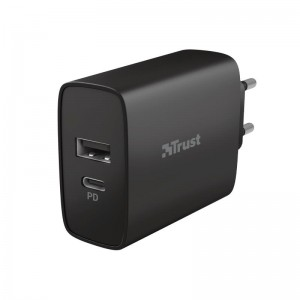 MOBILE CHARGER WALL QMAX/30W USB-C 23558 TRUST