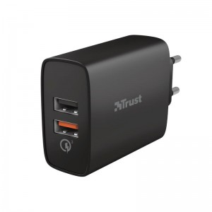 MOBILE CHARGER WALL QMAX/QC3 USB 23559 TRUST