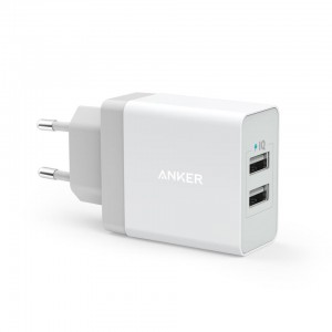MOBILE CHARGER WALL 2P 24W/A2021L11 ANKER