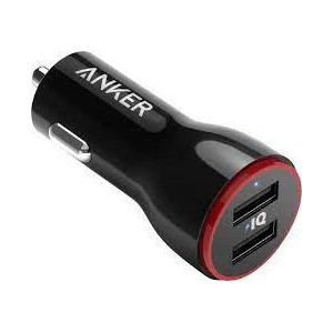 MOBILE CHARGER CAR POWERDRIVE/2 24W DUAL A2310G11 ANKER